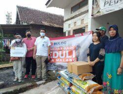 Tugu Media Peduli X Bulog Salurkan Donasi untuk Warga Terdampak Gempa Malang