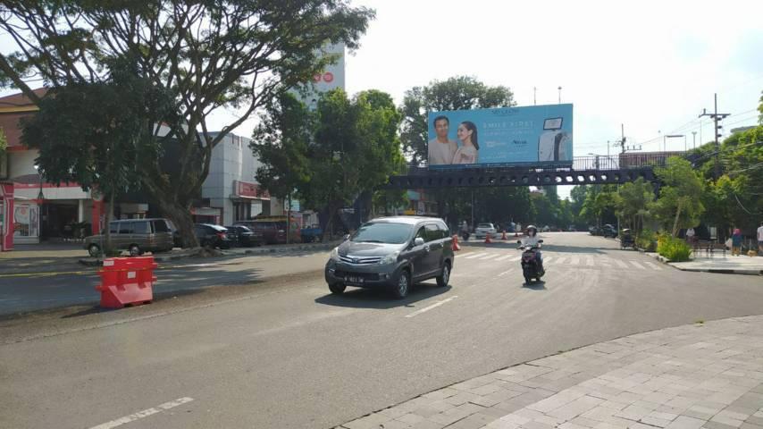 Area zona III di kawasan Kayutangan Heritage yang rencananya akan diterapkan jalur satu arah. (Foto:Azmy/Tugu Jatim)