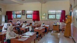 Ilustrasi pembelajaran tatap muka di Kota Batu. (Foto: Sholeh/Tugu Jatim)