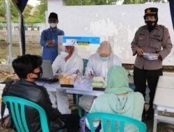 Forkopimda Bangkalan dan Ditlantas Polda Jatim Gelar Pemeriksaan Covid-19 di Terminal