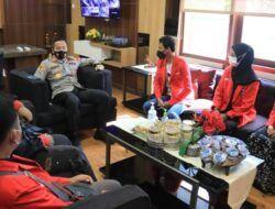 Jelang Pergantian Ketua, DPD GMNI Tuban Silaturahmi ke Polres Tuban