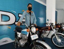 Guru SMK NMC Malang Bangun Museum Motor Klasik Hasil Restorasi