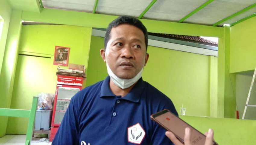 Sekretaris Fraksi PKB Trenggalek, Amin Tohari saat ditemui awak media. (Foto: M Zamzuri/Tugu Jatim)