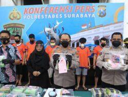 20,5 Kg Sabu Siap Edar Diamankan Polrestabes Surabaya