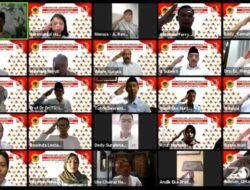 Peringati Hari Lahir Pancasila, Untag Surabaya Gelar Upacara Virtual