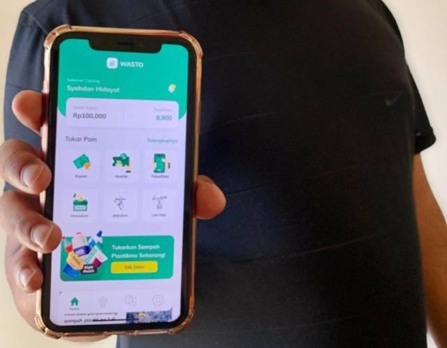 Aplikasi Wasto buatan arek Malang yang menjuarai kompetisi Damping Incubator Competition (2021). (Foto: Dokumen)