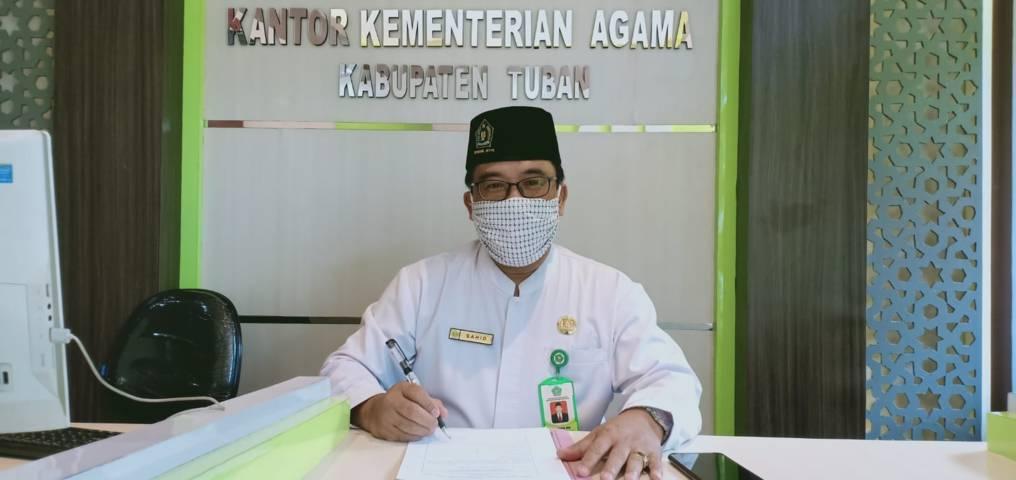 Kepala Kantor Kementerian Agama Kabupaten Tuban Sahid. (Foto: Humas Kemenag Tuban/Tugu Jatim)