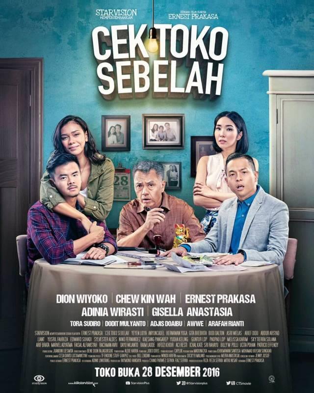 Poster Cek Toko Sebelah (2016). (Foto: IMDB/Dokumen)