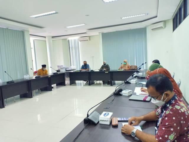 Proses rapat bersama Komisi IV DPRD Kabupaten Tuban pada Kamis (01/07/2021). (Foto: Humas DPRD Tuban/Tugu Jatim)