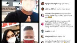 MPM Honda Jatim menggelar talkshow bertajuk Ngoprek (Ngobrol Online Seputar Komunitas) bersama komunitas Honda Genio Riders Indonesia (HGRI) Chapter Malang secara langsung di Instagram pada Jumat (30/07/2021). (Foto: Dokumen/Tugu Jatim)