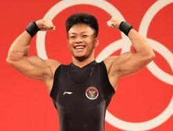 Angkat Besi Sumbang Dua Medali Bagi Indonesia di Ajang Olimpiade Tokyo 2020