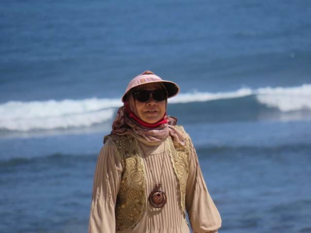 Penulis, Ita Lizamia. (Foto: Dokumen/Tugu Jatim)