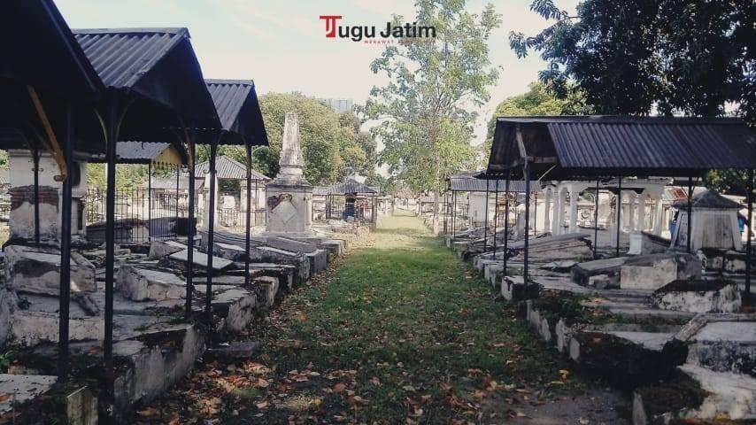 Makam Peneleh dibangun untuk menggantikan makam Eropa yang ada di Kerembangan Surabaya.(Foto: Rangga Aji/Tugu Jatim)