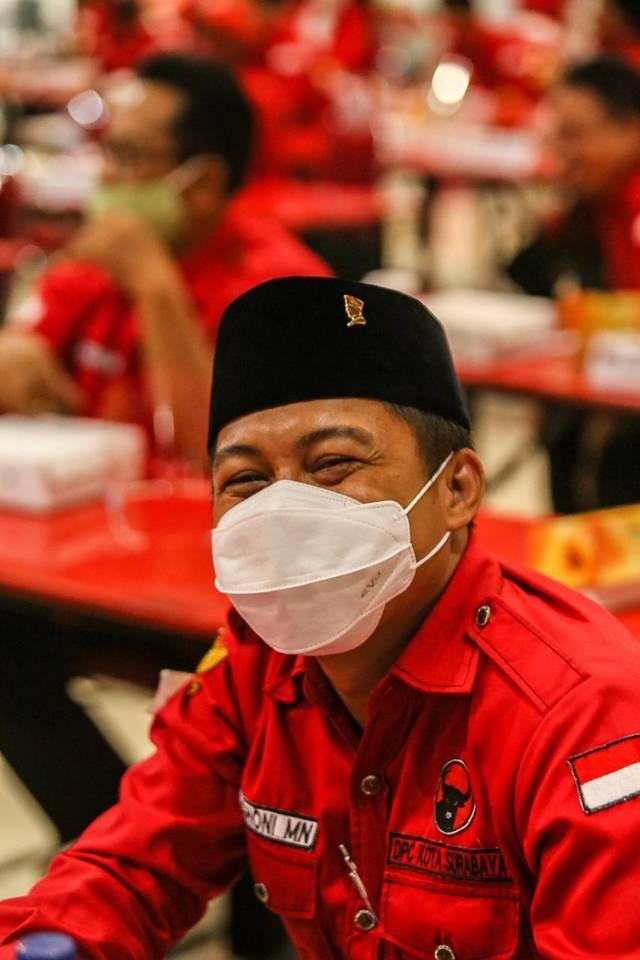 Sekretaris Fraksi PDI Perjuangan DPRD Kota Surabaya Abdul Ghoni Mukhlas Niam. (Foto: Dokumen/Tugu Jatim)
