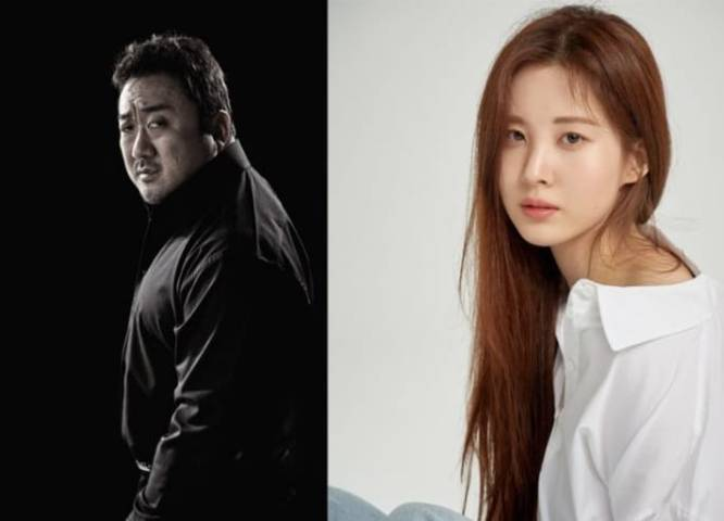 Ma Dong-seok dan Seohyun. (Foto: The Korea Times/Tugu Jatim)