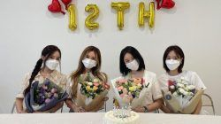 T-ara sedang merayakan 12 tahun debut mereka/tugu jatim
