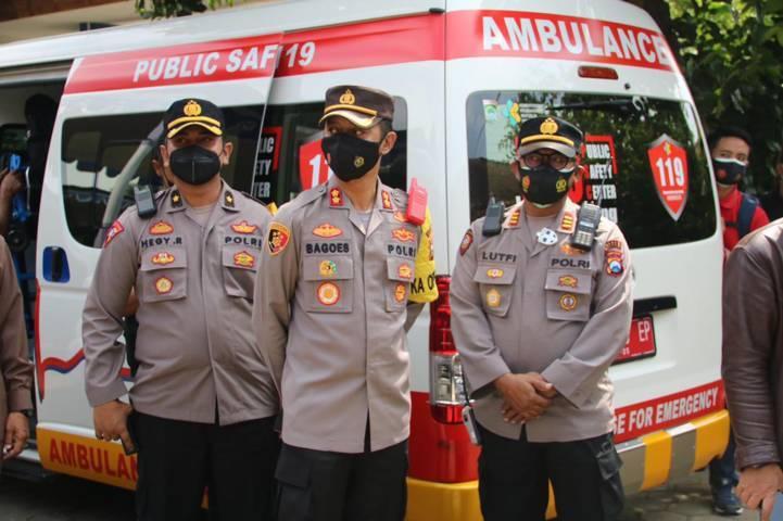 Kapolres Malang AKBP Bagoes Wibisono gelar serbuan vaksinasi untuk capai herd immunity di Kecamatan Pakis, Kabupaten Malang, Sabtu (31/07/2021). (Foto: Rizal Adhi/Tugu Jatim)
