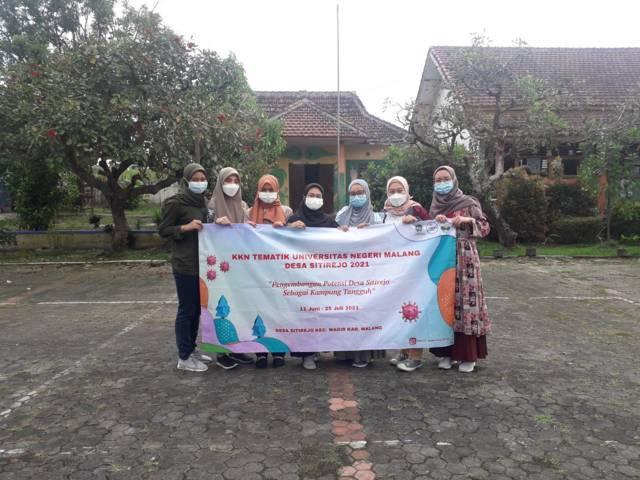 Tim KKN Tematik Biologi UM 2021. (Foto: Dokumen/Tugu Jatim)