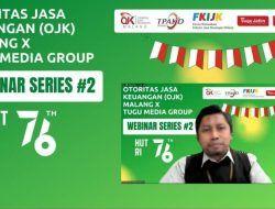 Webinar OJK X Tugu Media Group, BSI Malang Ulas soal Produk Perbankan Syariah