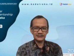 Dalam Webinar CEO Mentorship Batch II, Dikti Dorong Dosen Ciptakan Mahasiswa Entrepreneur dalam Kedaireka