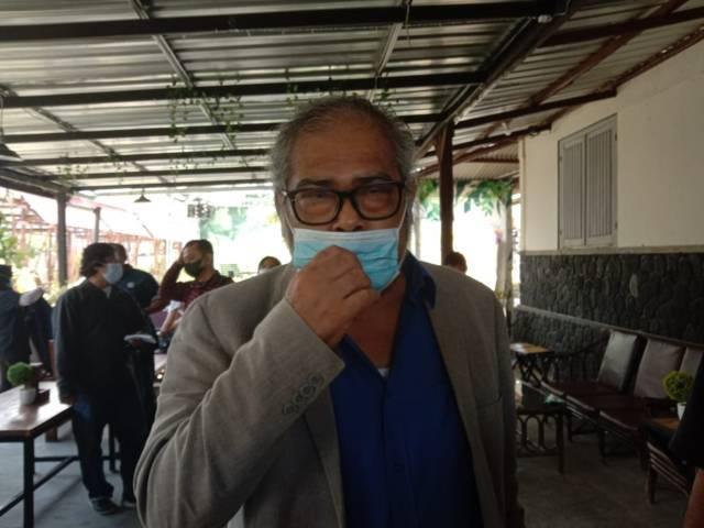 Ketua Komnas PA Arist Merdeka Sirait saat berada di Kota Batu. (Foto: Sholeh/Tugu Jatim)