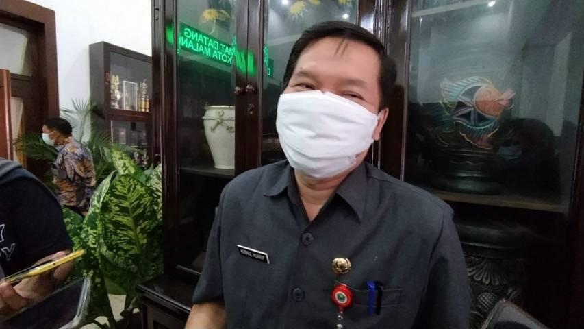 Jubir Satgas Covid-19 Kota Malang dr Husnul Muarif. (Foto:Azmy/Tugu Jatim)
