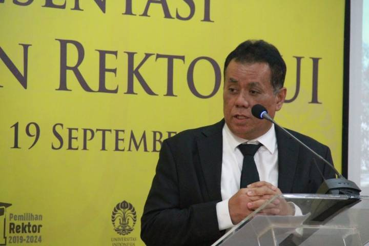 Rektor UI, Ari Kuncoro. (Foto: Dokumen/UI) tugu jatim