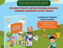 Terobosan Baru, Auliya Book Gandeng LP Ma'arif NU Jatim Terbitkan Buku Berteknologi Augmented Reality