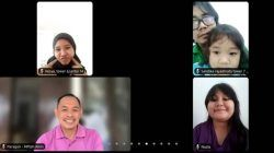 PT Paragon Technology and Innovation menggandeng Wisma Atlet Jakarta guna mendukung kesehatan mental anak-anak di Hari Anak Nasional melalui Zoom, Jumat (23/07/2021). (Foto: Feni Yusnia/Tugu Jatim)