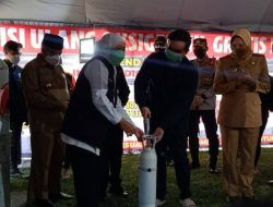 Khofifah Resmikan Depo Isi Ulang Oksigen Gratis di Malang