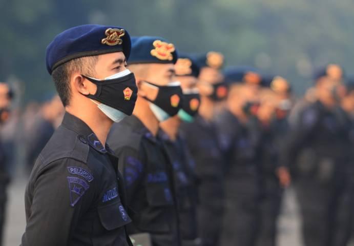 Semua pasukan bersiap melaksanakan PPKM Darurat. (Foto: Sholeh/Tugu Jatim)