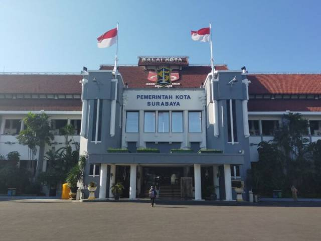 Balai Kota Surabaya. (Foto: Pemkot Surabaya/Tugu Jatim)