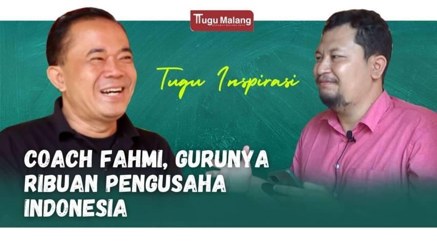 Podcast Coach Fahmi bersama CEO Tugu Media Group, Irham Thoriq. (Foto: Dokumen/Tugu Malang/Tugu Jatim)