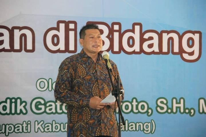 Wakil Bupati Malang Didik Gatot Subroto. (Foto: Rizal Adhi/Tugu Jatim)