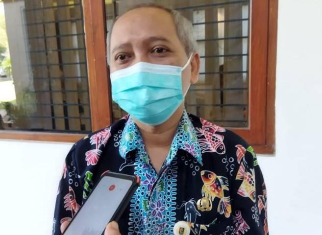 Sekretaris Daerah Kabupaten Tuban Budi Wiyana usai melaksanakan kegiatan penghargaan KLA oleh Kementerian Pemberdayaan Perempuan dan Perlindungan Anak (KPPPA) secara virtual, Kamis (29/07/2021). (Foto: Humas Pemkab Tuban/Tugu Jatim)