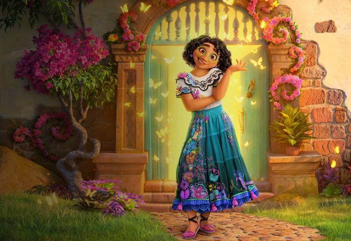 Film animasi terbaru dari Disney, Encanto bakal dirilis pada November 2021 mendatang. (Foto: Disney)