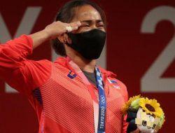 Emas Pertama Filipina Sepanjang Sejarah Olimpiade Tokyo 2020
