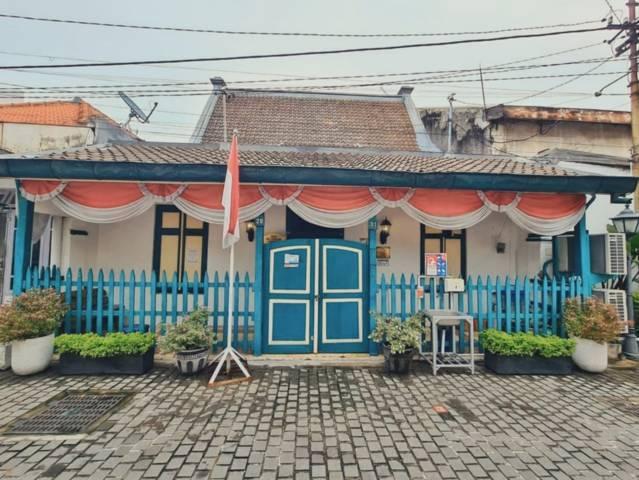 Tampak Rumah HOS Cokroaminoto yang terletak di Jalan Peneleh Gang VII Nomor 29-31 Kota Surabaya. (Foto: Instagram/@ansikset)
