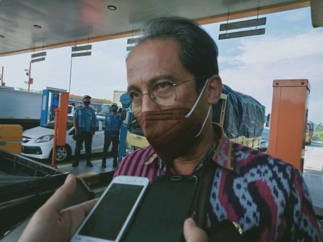 Kadinkes Kabupaten Malang, Arbani Mukti Wibowo menyatakan bahwa usia 20-44 tahun merupakan usia yang paling banyak terkena Covid-19 di Kabupaten Malang. (Foto: Rizal Adhi/Tugu Malang/Tugu Jatim)