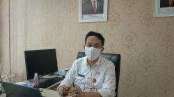 Jubir Satgas Covid-19 Kota Batu, Onny Ardianto saat ditemui di Balai Kota Among Tani Batu. (Foto: M Sholeh/Tugu Malang/Tugu Jatim)