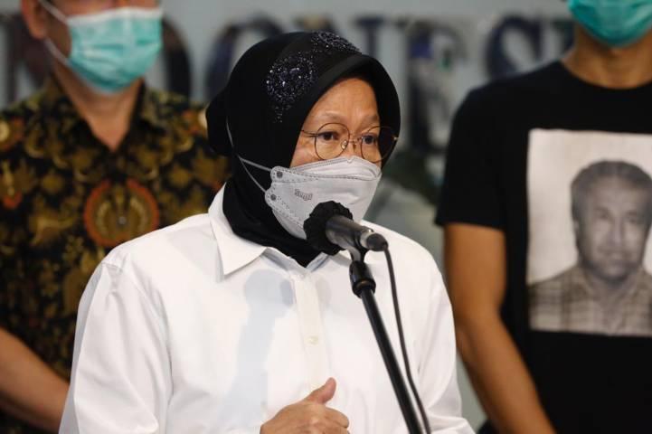 Menteri Sosial (Mensos) Tri Rismaharini. (Foto: Dokumen/Kementerian Sosial RI) tugu jatim, bansos beras pkh