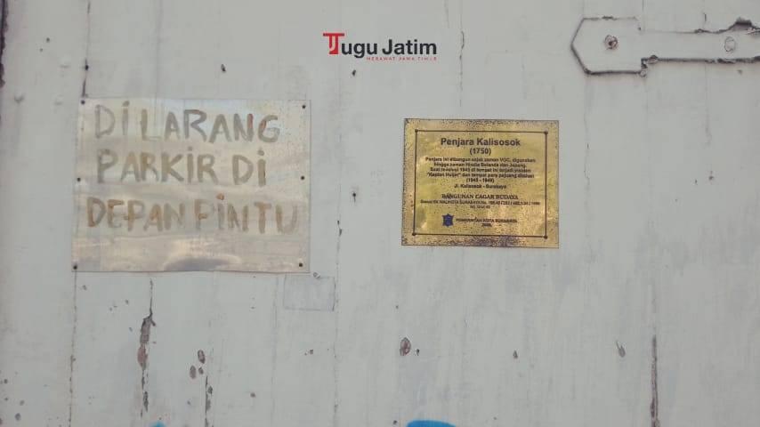 Tampilan Penjara Kalisosok di Surabaya. (Foto: Rangga Aji/Tugu Jatim)