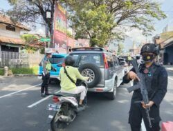 Penyekatan Hari Ke-2, Polres Batu Tegaskan Tak Ada Aktivitas Wisata saat PPKM Darurat