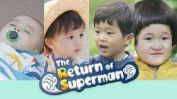 Mencontek pola asuh keluarga Korea melalui reality show The Return of Superman. (Foto: via Pinterest) tugu jatim parenting