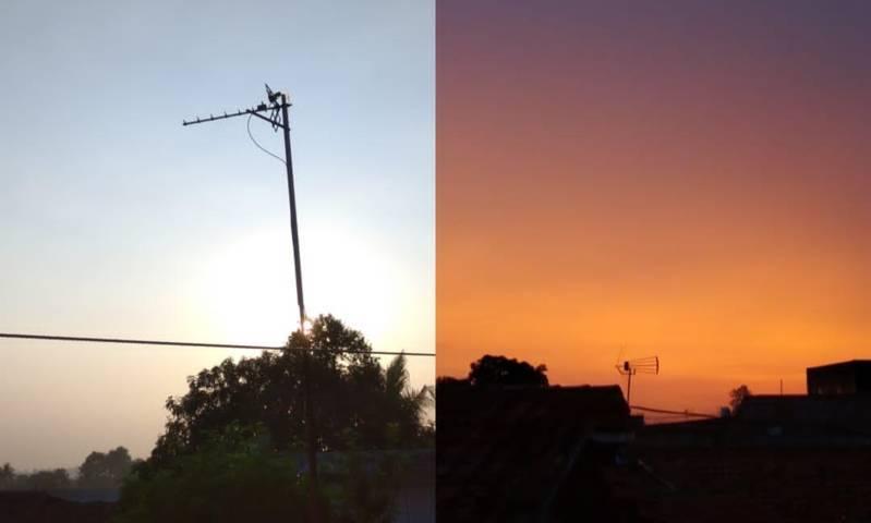 Ilustrasi senja vs fajar. (Foto: Dokumen) puisi tugu jatim rahmawati