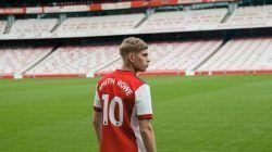 Emile Smith Rowe, pemain berusia 20 tahun yang baru 2 musim naik dari akademi Arsenal dan mengenakan nomor punggung 10. (Foto: Instagram/Emile Smith Rowe)