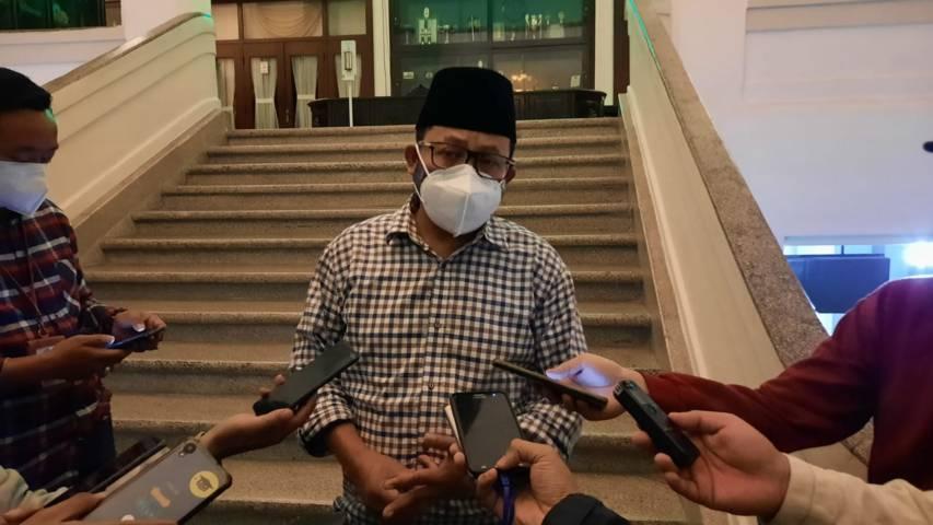 Wali Kota Malang Sutiaji. (Foto: M Ulul Azmy/Tugu Malang/Tugu Jatim) vaksin vaksinasi
