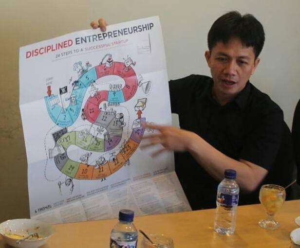 CEO Aren Energy Investment Pte Ltd Toronata Tambun dalam sebuah kesempatan. (Foto: Dokumen)