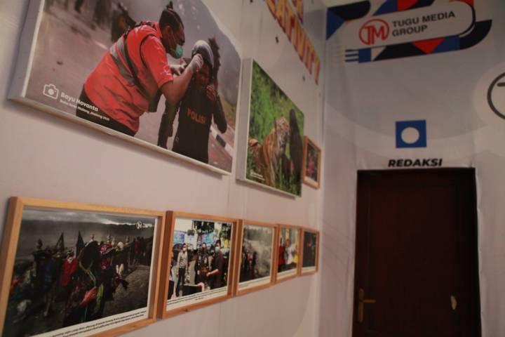 Suasana kantor Tugu Media Group di Jalan Dirgantara A1/12 B, Lesanpuro, Kedungkandang, Kota Malang, Jawa Timur. (Foto-foto: Bayu Eka/Tugu Jatim)