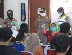 Polrestabes Surabaya Fasilitasi Vaksin Gratis untuk Anak Usia 12-17 Tahun
